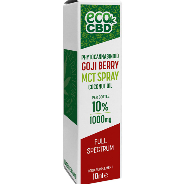 CBD Goji Berry Spray MCT Full Spectrum