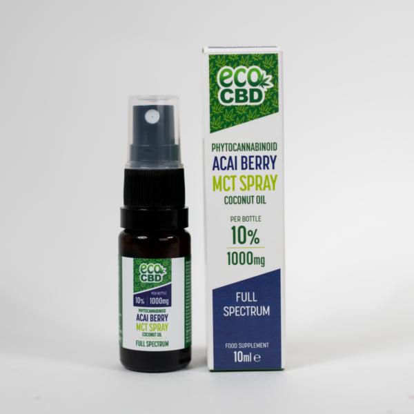 MCT spray Acai Berry 10